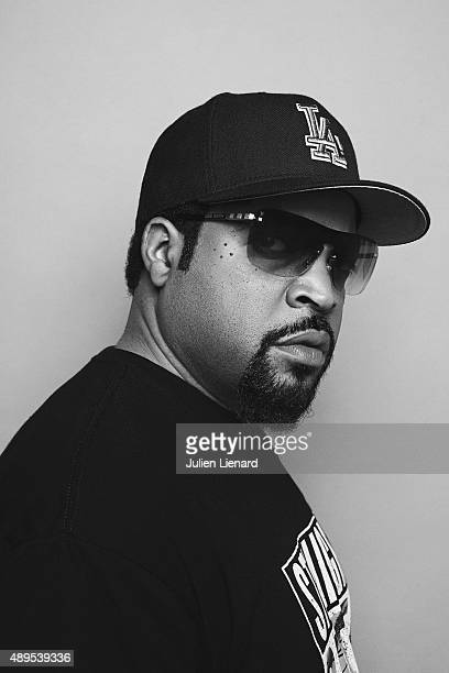 Rapper Ice Cube is photographed for Self Assignment on August 24 2015 in Paris France