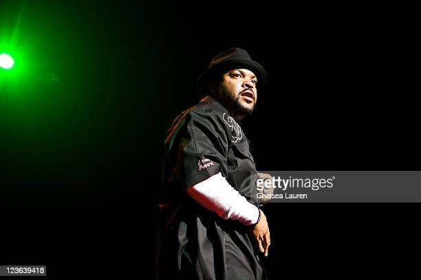 Rapper Ice Cube performs at Power 106 Cali Christmas at Gibson Amphitheatre on December 3, 2010 in Universal City, California.