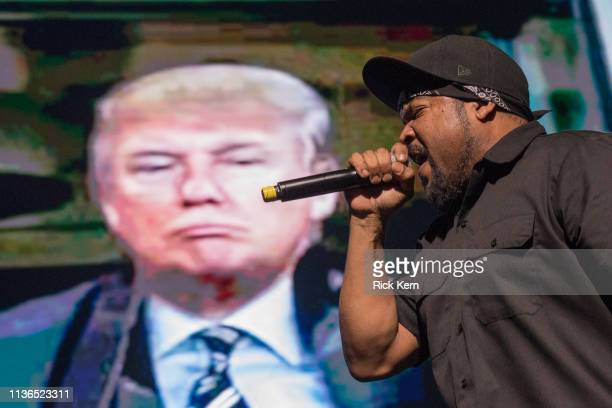 Rapper Ice Cube performs in concert at ACL Live on March 17, 2019 in Austin, Texas.