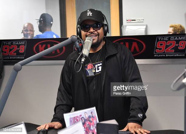 Rapper Ice Cube visits 929 The Game at Entercom Atlanta Studios on August 9 2018 in Atlanta Georgia