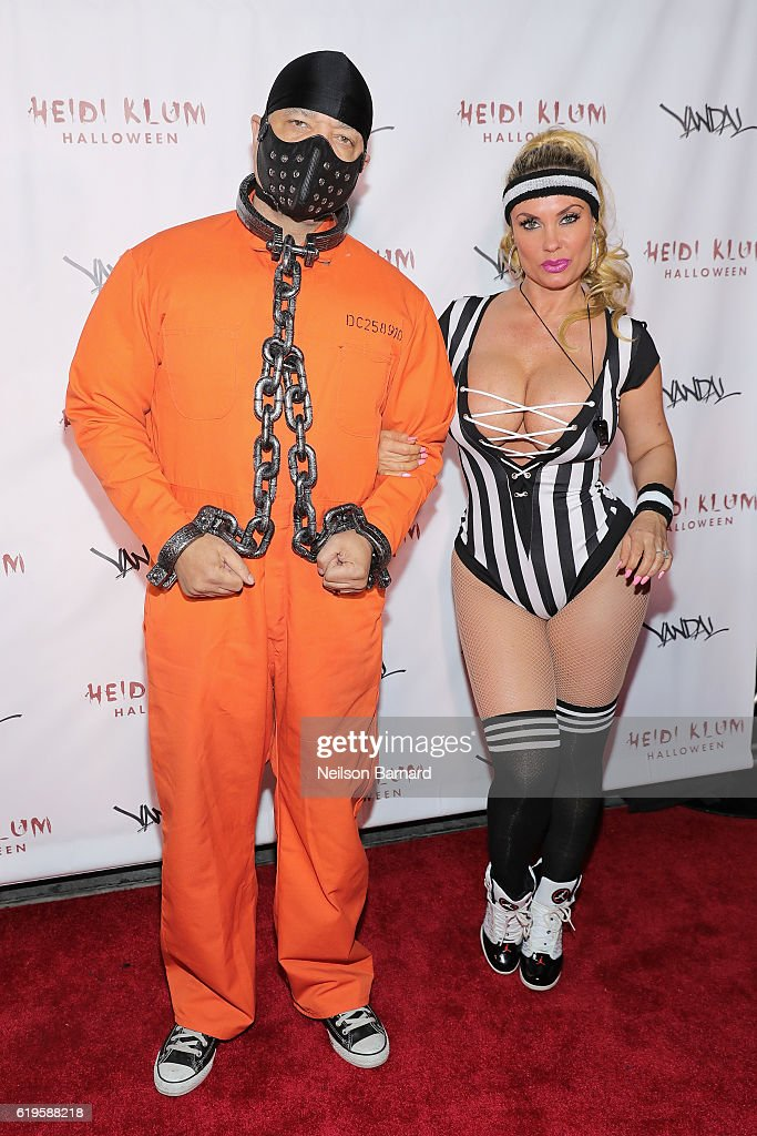Rapper Ice-T and actress Coco Austin attend Heidi Klum's 17th Annual Halloween Party sponsored by SVEDKA Vodka at Vandal on October 31, 2016 in New York City.