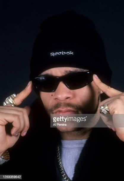 Rapper Ice-T appears in a portrait taken on March 3, 1992 in New York City.