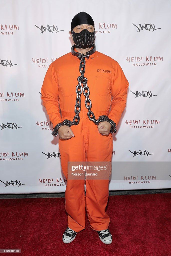 Rapper Ice-T attends Heidi Klum's 17th Annual Halloween Party sponsored by SVEDKA Vodka at Vandal on October 31, 2016 in New York City.