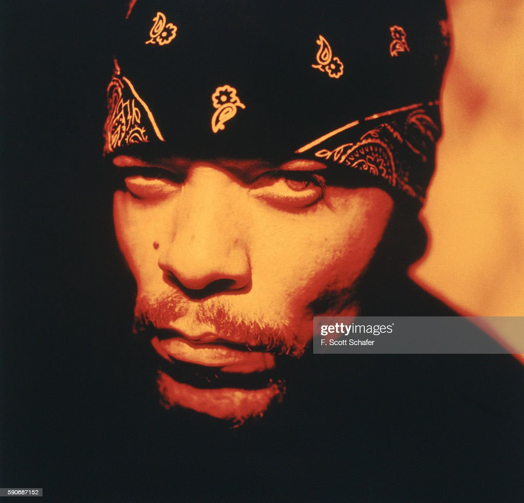 Rapper Ice-T is photographed in 1994.