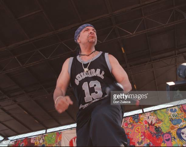 Rapper IceT performs on Vans Warped Tour July 3 1999 in Oakland CA The ActorMusician will be joining the cast of NBC's Law Order Special Victims Unit