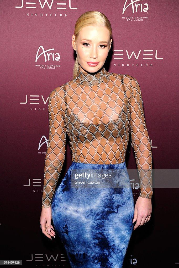 Iggy Azalea At Jewel Nightclub In Las Vegas