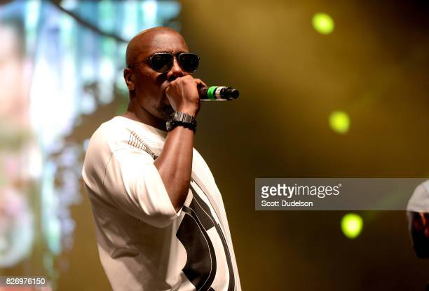 Rapper Inspectah Deck of Wu Tang Clan performs onstage during the Summertime in the LBC festival on August 5 2017 in Long Beach California