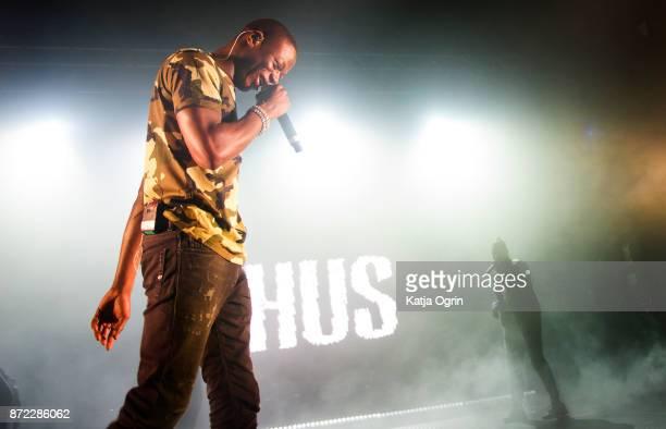 Rapper J Hus performs at O2 Academy Birmingham on November 9, 2017 in Birmingham, England.