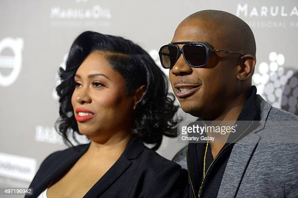 Rapper Ja Rule and Aisha Atkins attend the 2015 Baby2Baby Gala presented by MarulaOil Kayne Capital Advisors Foundation honoring Kerry Washington at...