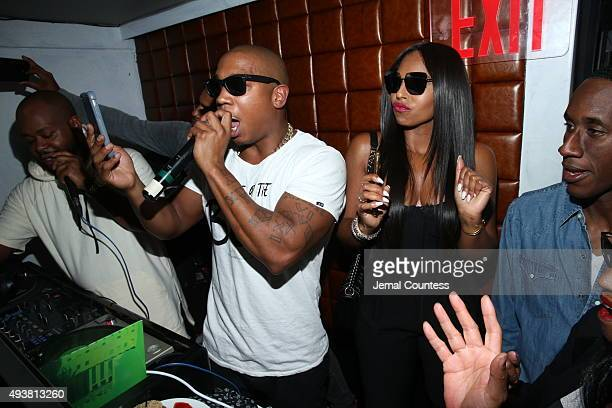 Rapper Ja Rule and singer Ashanti perform at the MTV And Ja Rule Follow The Rules Premiere Party at Catch on October 21 2015 in New York City
