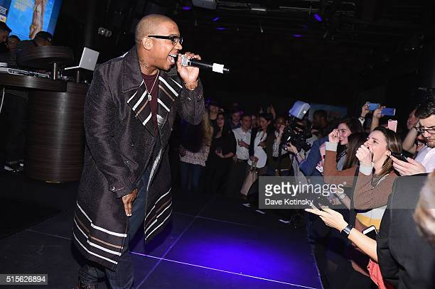 Rapper Ja Rule performs during the Sports Illustrated KIZZANG Bracket Challenge Party at Slate on March 14 2016 in New York City