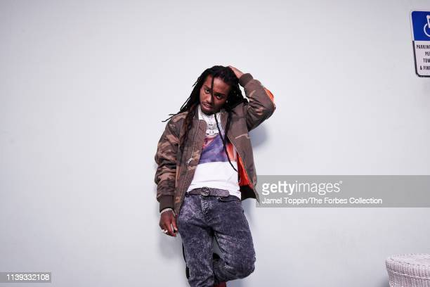 Rapper Jacquees is photographed for Forbes Magazine on November 26 2018 in Miami Florida CREDIT MUST READ Jamel Toppin/The Forbes Collection/Contour...