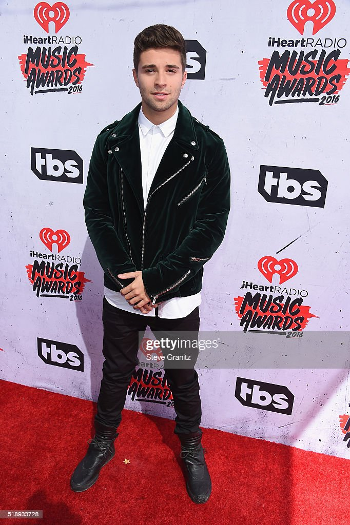 Rapper Jake Miller attends the iHeartRadio Music Awards at The Forum on April 3, 2016 in Inglewood, California.