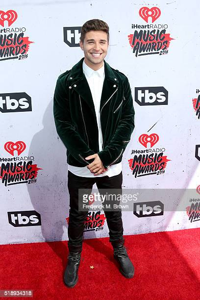 Rapper Jake Miller attends the iHeartRadio Music Awards at The Forum on April 3 2016 in Inglewood California