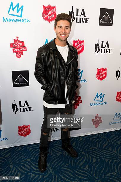 Rapper Jake Miller attends The Salvation Army 'Rock The Red Kettle' Concert presented by Mammoth Mountain at Microsoft Theater on December 5 2015 in...