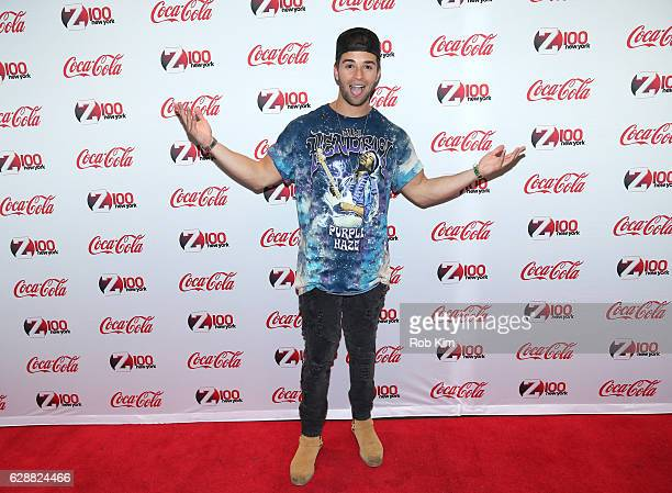 Rapper Jake Miller attends Z100 CocaCola All Access Lounge at Z100's Jingle Ball 2016 Presented by Capital One preshow at Hammerstein Ballroom on...