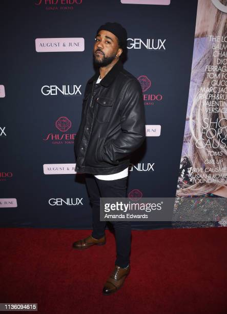 Rapper Jason Martin arrives at the GENLUX Issue Release Party hosted by Kristin Cavallari and Carly Steel on March 15 2019 in Beverly Hills California