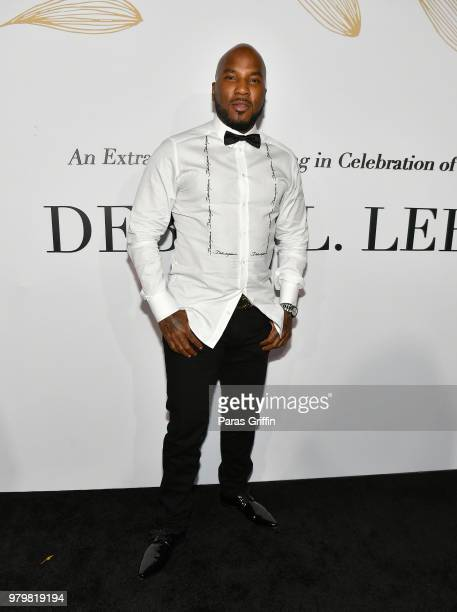 Rapper Jeezy attends the Debra Lee PreBET Awards Dinner at Vibiana on June 20 2018 in Los Angeles California