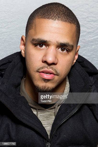 Rapper Jermaine Cole aka J Cole is photographed for USA Today on January 27 2012 in New York City