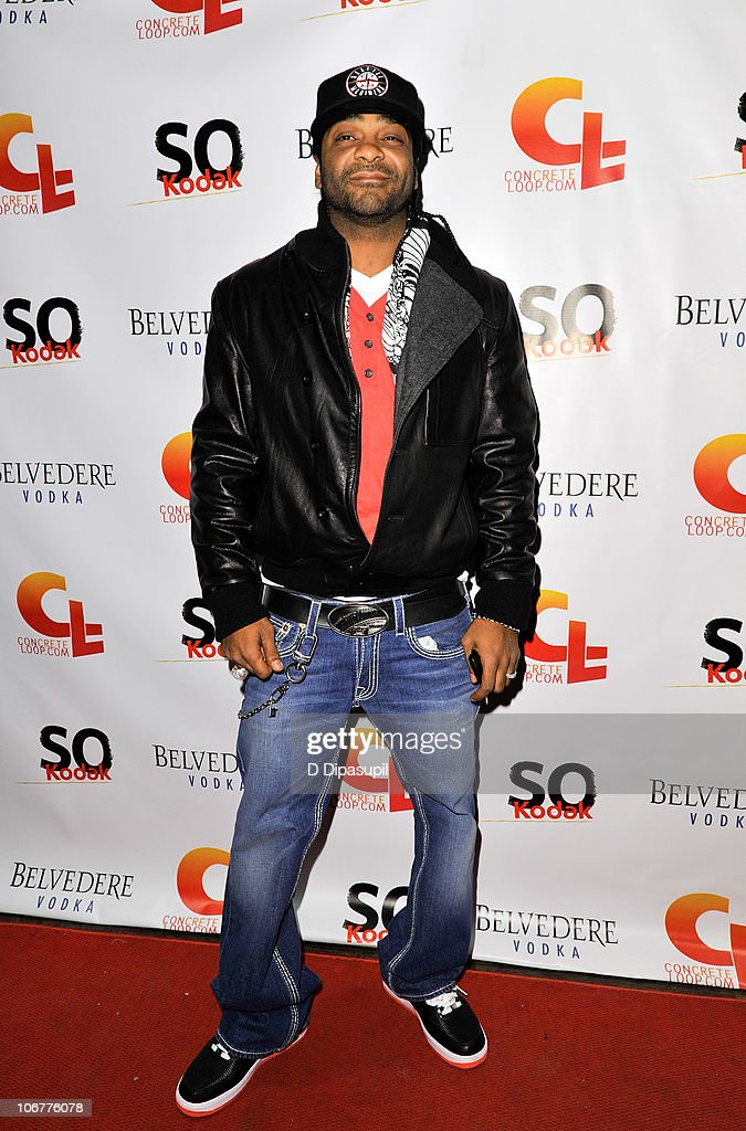 Rapper Jim Jones attends the 5th anniversary and re-launch of Concreteloop.com at Hiro Ballroom at The Maritime Hotel on November 11, 2010 in New York City.