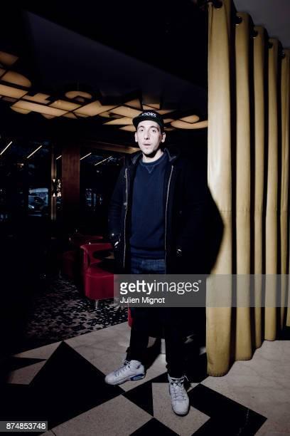 Rapper Jooks is photographed for ELLE on November 2014 in Paris France