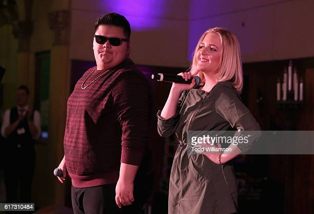Rapper Jovan Armand performs onstage at Starlight's Dream Halloween 2016 on October 22 2016 in Los Angeles California