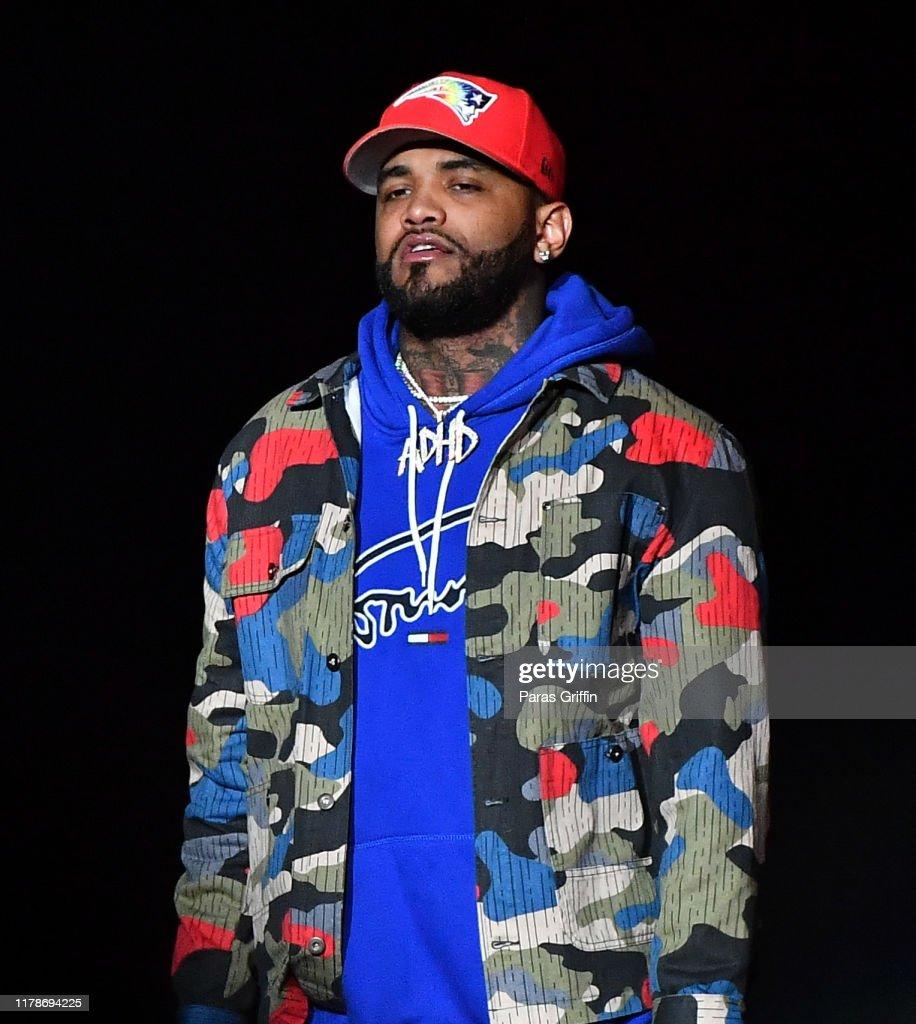 Chris Brown In Concert - Atlanta, GA : News Photo