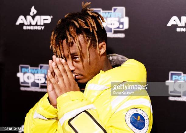 Rapper Juice Wrld attends Power1051's Powerhouse 2018 at Prudential Center on October 28 2018 in Newark New Jersey