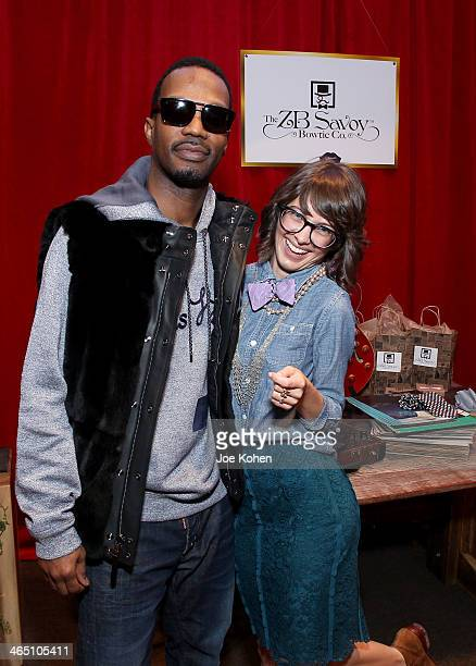 Rapper Juicy J attends the GRAMMY Gift Lounge during the 56th Grammy Awards at Staples Center on January 25 2014 in Los Angeles California
