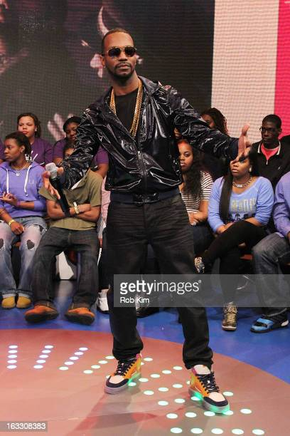 Rapper Juicy J visits BET's '106 Park' at BET Studios on March 7 2013 in New York City