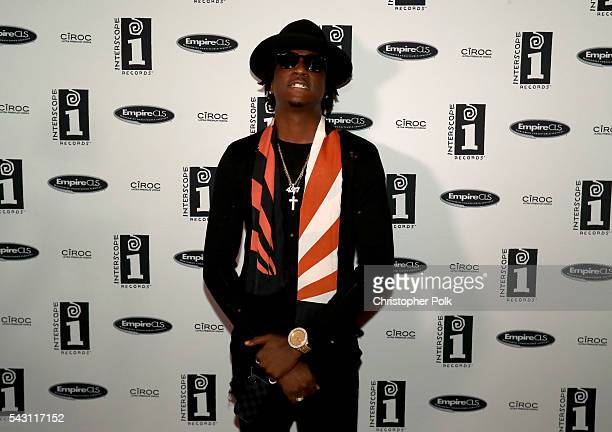 Rapper K Camp attends the Interscope BET Party at The Reserve on June 25 2016 in Los Angeles California