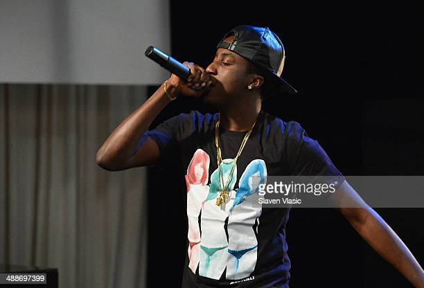Rapper K Camp performs at Music Choice's You A at Music Choice on May 7 2014 in New York City
