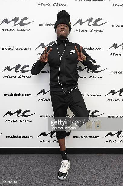 Rapper K Camp visits at Music Choice on August 18 2015 in New York City