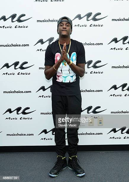 Rapper K Camp visits Music Choice's You A at Music Choice on May 7 2014 in New York City