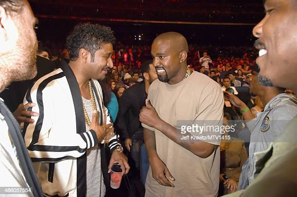 Rapper Kanye West attends the 2015 MTV Video Music Awards at Microsoft Theater on August 30 2015 in Los Angeles California
