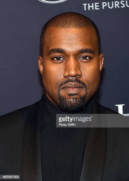 Rapper Kanye West attends The BET Honors 2015 at Warner Theatre on January 24 2015 in Washington DC