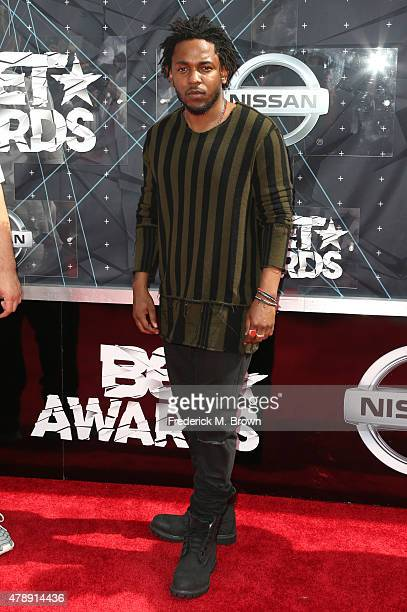 Rapper Kendrick Lamar attends the 2015 BET Awards at the Microsoft Theater on June 28 2015 in Los Angeles California
