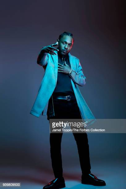 Rapper Kendrick Lamar is photographed for Forbes Magazine on October 3 2017 in New York City PUBLISHED IMAGE CREDIT MUST READ Jamel Toppin/The Forbes...