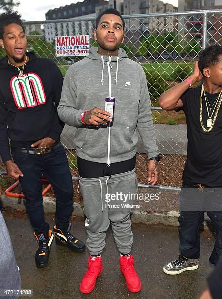 Rapper Kevin Gates attends StreetzFest2k15 at Masquerade Music Park Historic Fourth Ward Park on April 18 2015 in Atlanta Georgia
