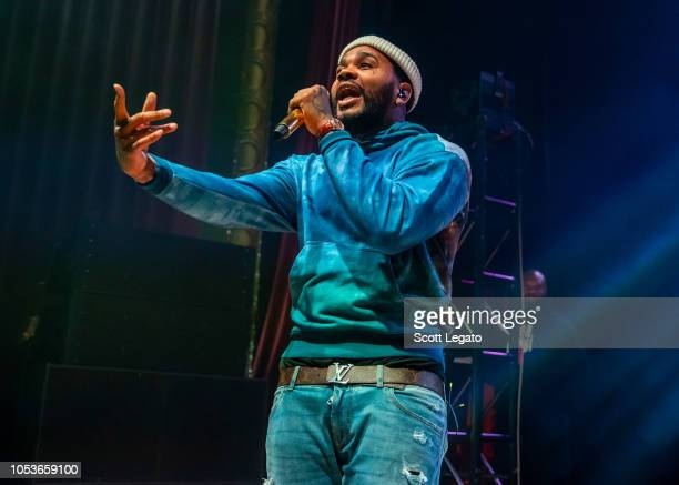 Rapper Kevin Gates performs in support of his Luca Brasi 3 Tour at Royal Oak Music Theatre on October 25 2018 in Royal Oak Michigan