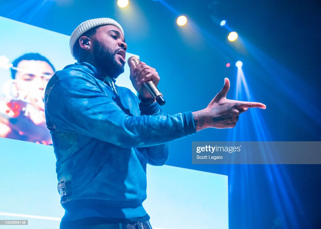 Rapper Kevin Gates performs in support of his Luca Brasi 3