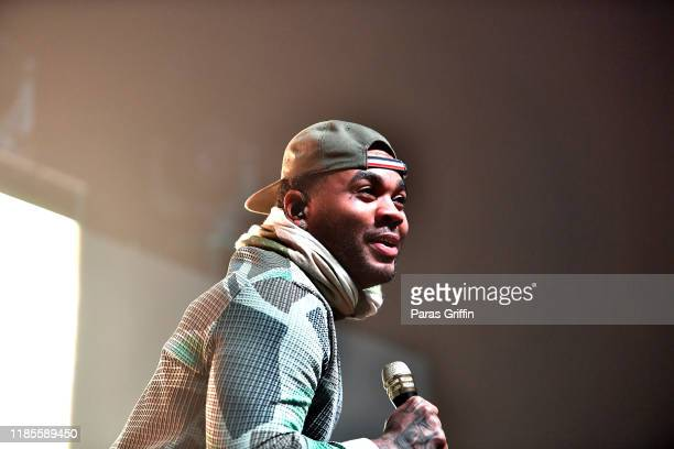 """Rapper Kevin Gates performs onstage during his I'm Him"""" tour at Coca Cola Roxy on November 04 2019 in Atlanta Georgia"""