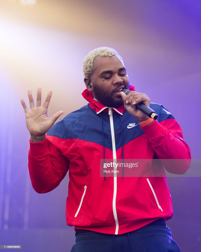 Rapper Kevin Gates performs onstage during JMBLYA at Fair Park on