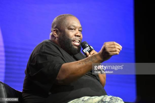 Rapper Killer Mike of Run the Jewels attends the REVOLT ATT Summit on October 25 2019 in Los Angeles California