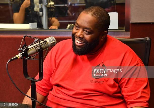 Rapper Killer Mike of Run the Jewels visits V103 Atlanta Studios on August 9 2018 in Atlanta Georgia