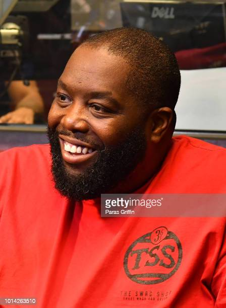 Rapper Killer Mike of Run the Jewels visits V103 Atlanta Studios on August 9 2018 in Atlanta Georgia