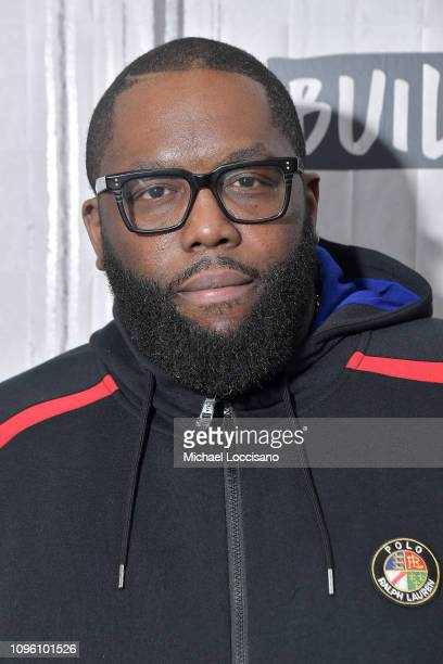 """Rapper Killer Mike visits Build to discuss his series """"Trigger Warning with Killer Mike"""" at Build Studio on January 18, 2019 in New York City."""