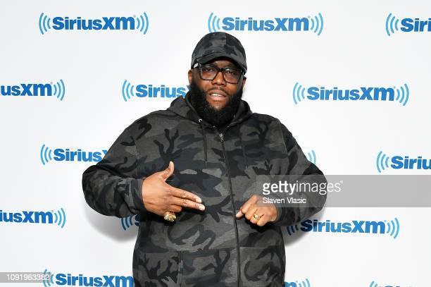 Rapper Killer Mike visits SiriusXM Studios on January 31 2019 in New York City