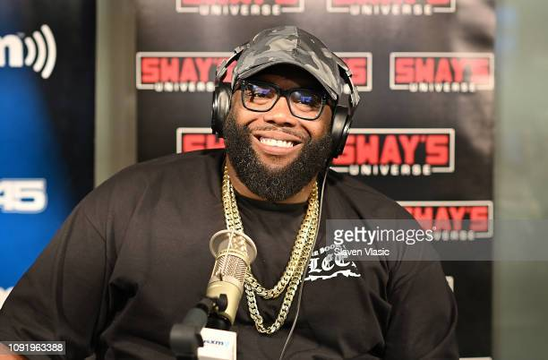 Rapper Killer Mike visits Sway's at SiriusXM Studios on January 31 2019 in New York City