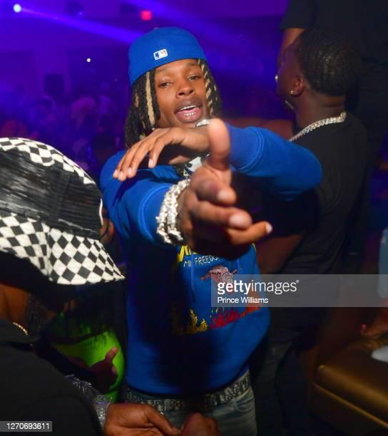 Rapper King Von attends Compound Saturday Nights at Compound on August 29, 2020 in Atlanta, Georgia.